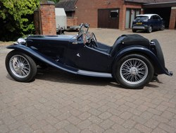 1937 Early MG TA Photo 2