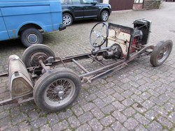 1934 MG N Magnette Rolling Chassis Photo 3
