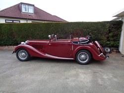 1938 MG SA Tickford d.h.c. Photo 12