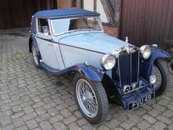 1939 MG TB  Tickford d.h.c.. Photo 23
