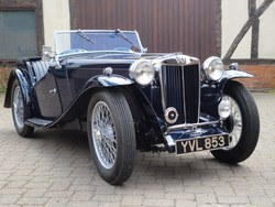 1937 Early MG TA Photo 15