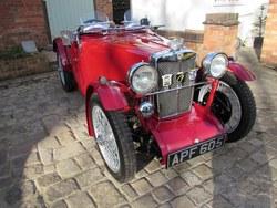 1933. The ex Vic Derrington MG J2 Photo 3