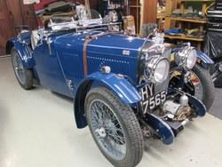 1933 MG J4  rep. Photo 17