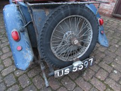 1934 MG PA. Now full details. Photo 3
