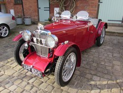 1933. The ex Vic Derrington MG J2 Photo 2