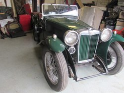 Image of 1936 MG PB  Midget
