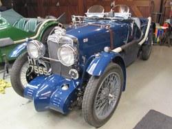 1933 MG J4  rep. Photo 18