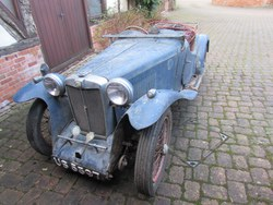 Image of 1934 MG PA for RESTORATION