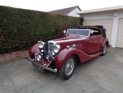 Image of 1938 MG SA Tickford d.h.c.