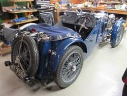 1933 MG J4  rep. Photo 3