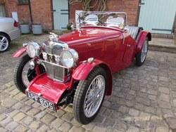 1933. The ex Vic Derrington MG J2 Photo 15