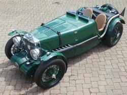 Image of 1934 MG K3 replica.