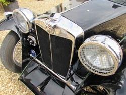 1935 MG PA S/charged Police Car Photo 13