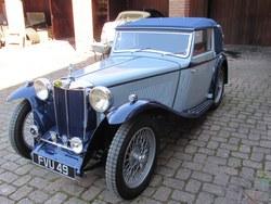 1939 MG TB  Tickford d.h.c.. Photo 2