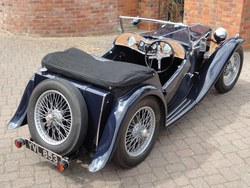 1937 Early MG TA Photo 4