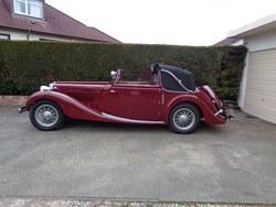 1938 MG SA Tickford d.h.c. Photo 11