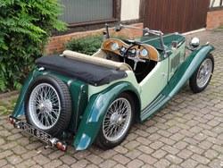 1937 MG TA to TB spec. Photo 2