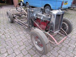 1934 MG N Magnette Rolling Chassis Photo 2