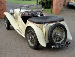 1946 MG TC Midget Photo 3