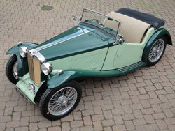 Image of 1937 MG TA to TB spec.