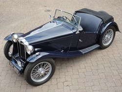1937 Early MG TA Photo 1