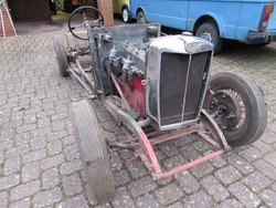 1934 MG N Magnette Rolling Chassis Photo 4