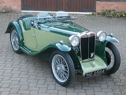 1934 MG PA Midget Photo 12