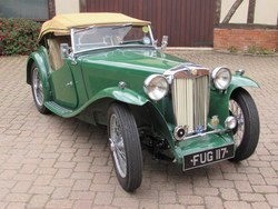 1938 MG TA Photo 11