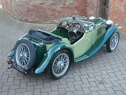 1934 MG PA Midget Photo 2