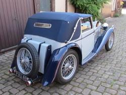 1939 MG TB  Tickford d.h.c.. Photo 3