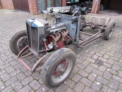 Image of 1934 MG N Magnette Rolling Chassis