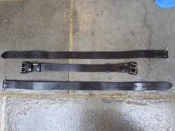 SUPERB QUALITY 3-PART BONNET BELTS.      Without doubt the best quality 3-part bonnet belts available anywhere. Photo 4