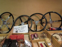 STEERING WHEELS .........All types available for  pre-war models (MMM) plus all TA/TB/TC models Photo 1