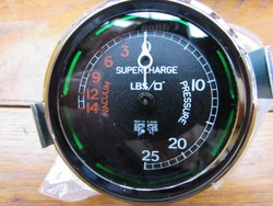 SUPERCHARGER GAUGES.   Original British Jaeger units totally restored as new. Photo 1