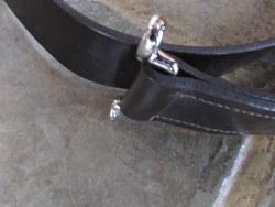 SUPERB QUALITY 3-PART BONNET BELTS.      Without doubt the best quality 3-part bonnet belts available anywhere. Photo 2