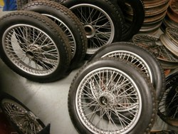 LARGE BATCH OF MMM & T TYPE ROAD WHEELS & BRAND NEW TYRES (Separate) Photo 1