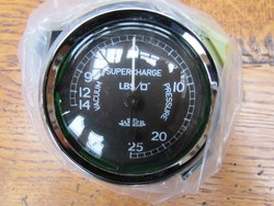 SUPERCHARGER GAUGES.   Original British Jaeger units totally restored as new. Photo 2
