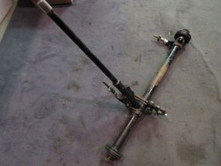 MG D/F/J/L/P HANDBRAKE CROSS-SHAFT ASSEMBLY Photo 1