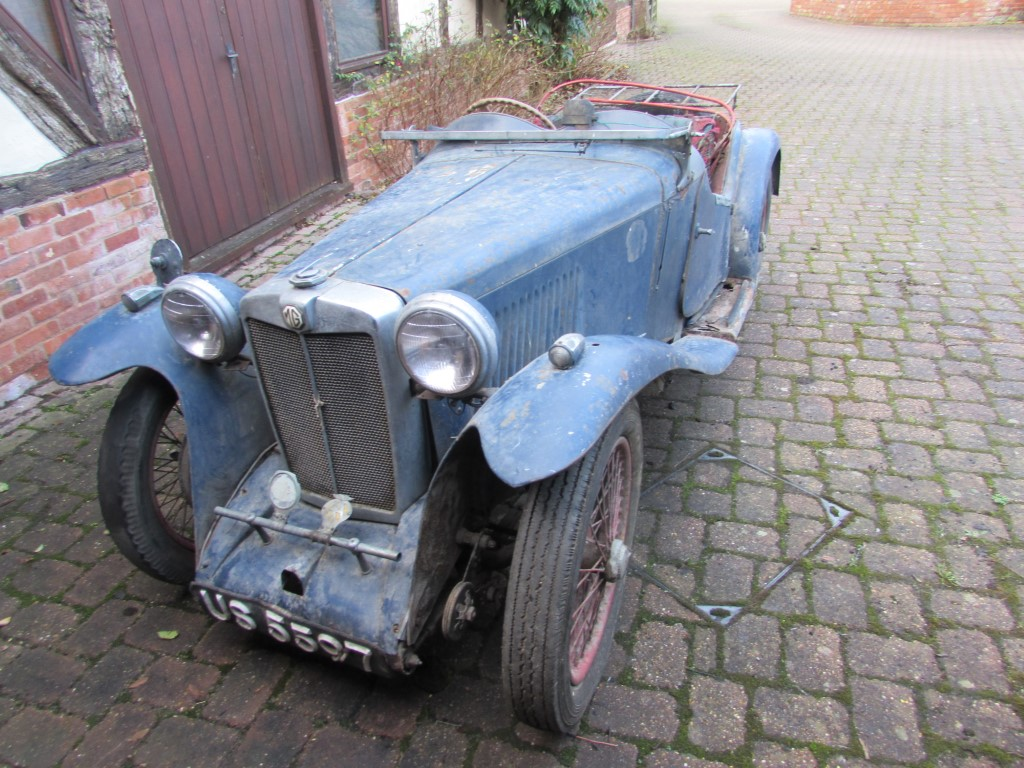 1934 MG PA. Now full details.