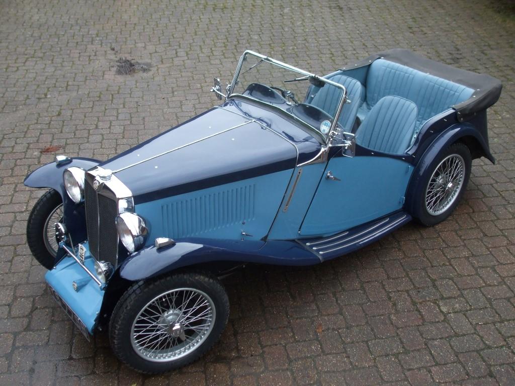 1935 MG 'N' Magnette