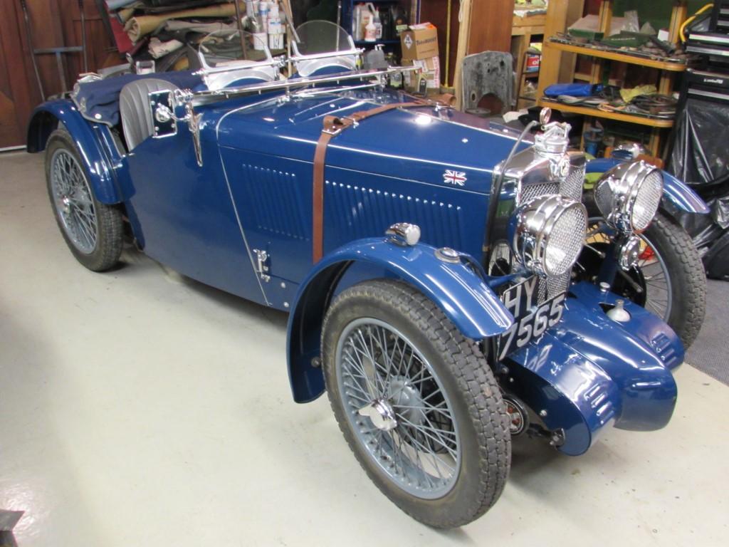1933 MG J4  rep.
